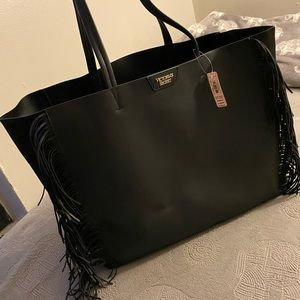 Victoria Secret Tote Bag with Fringe
